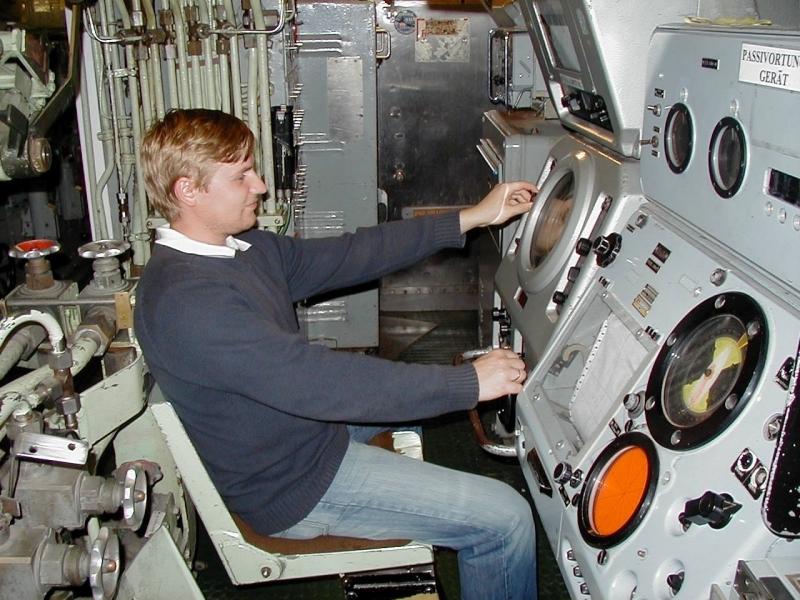 В подводной лодке
