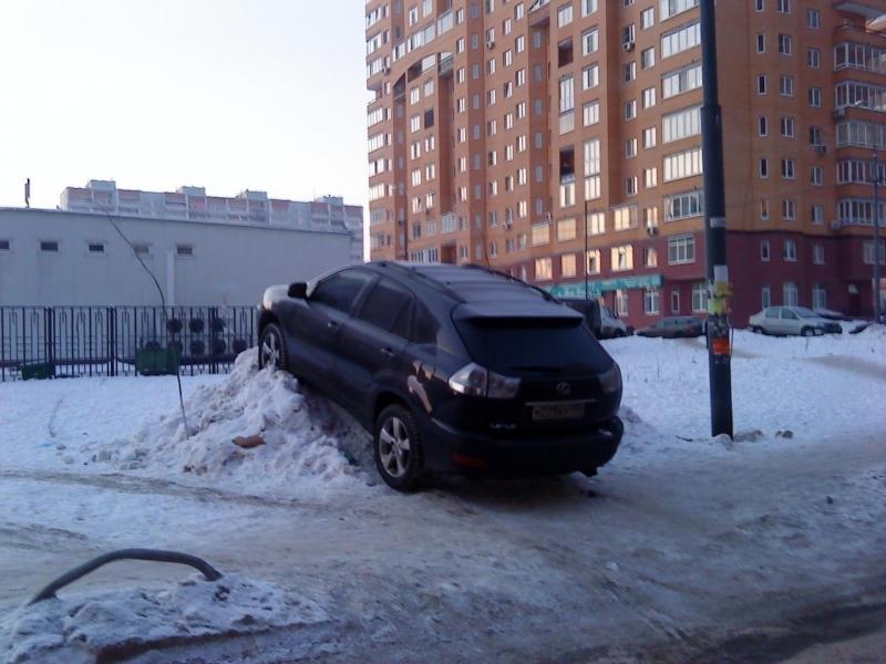 идиот паркинг