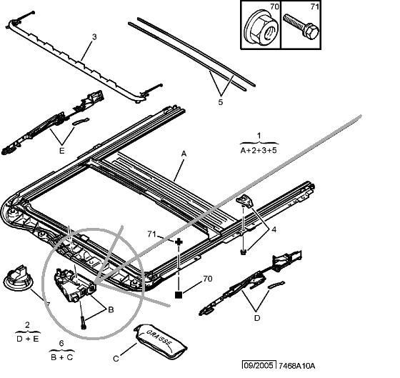 Привод люка от С5 первого поколения!!!
