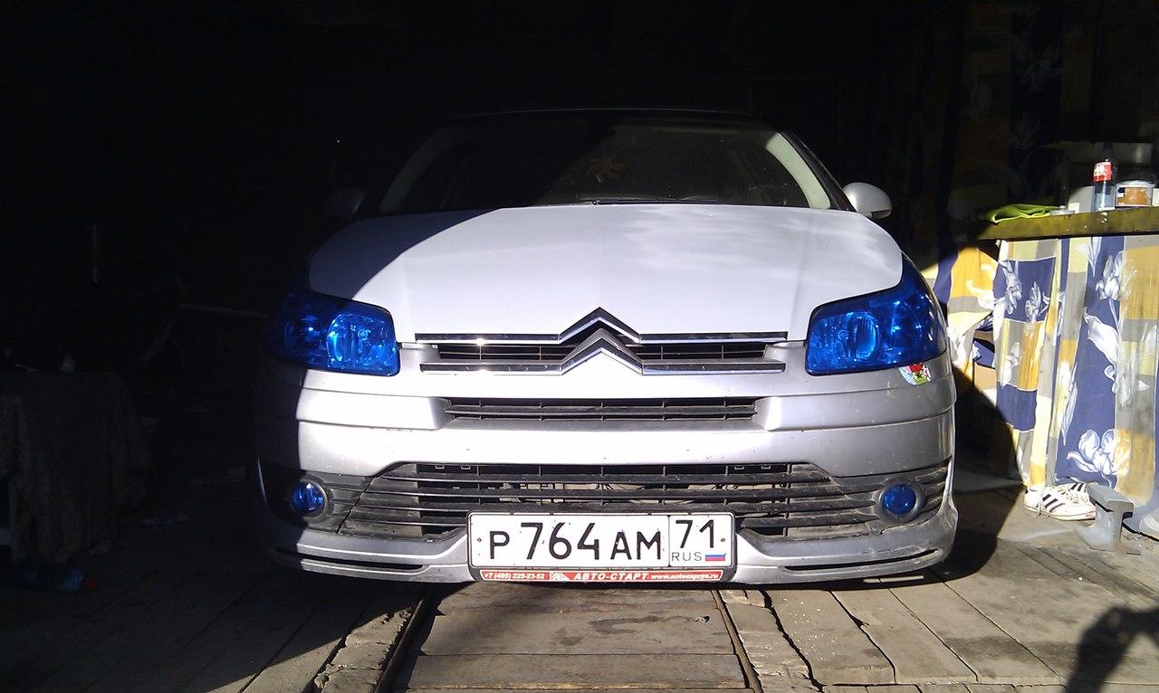 Ситроен с4 купе Стайлинг