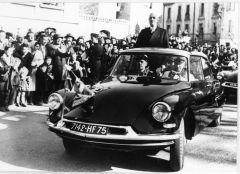 La DS Et DE GAULLE 13 05 1963   11.470