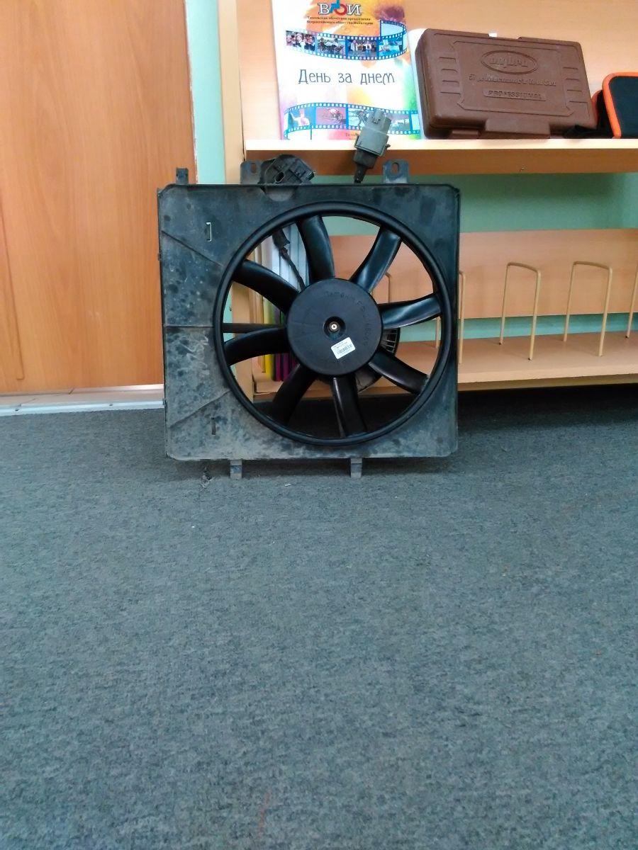 Вентилятор охлаждения радиатора или замена крыльчатки