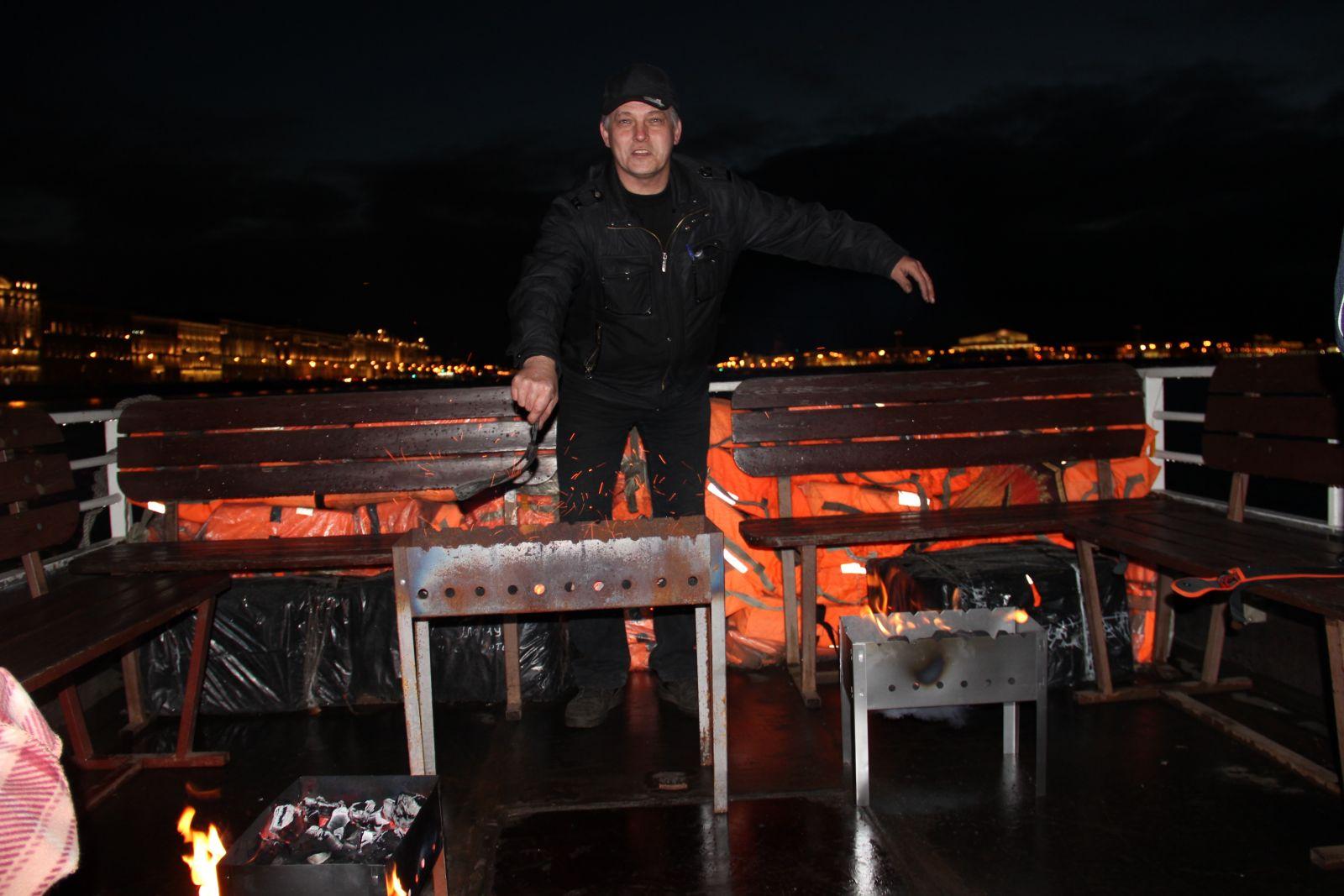 Закрытие шашлычного сезона в большой Неве ! 2016