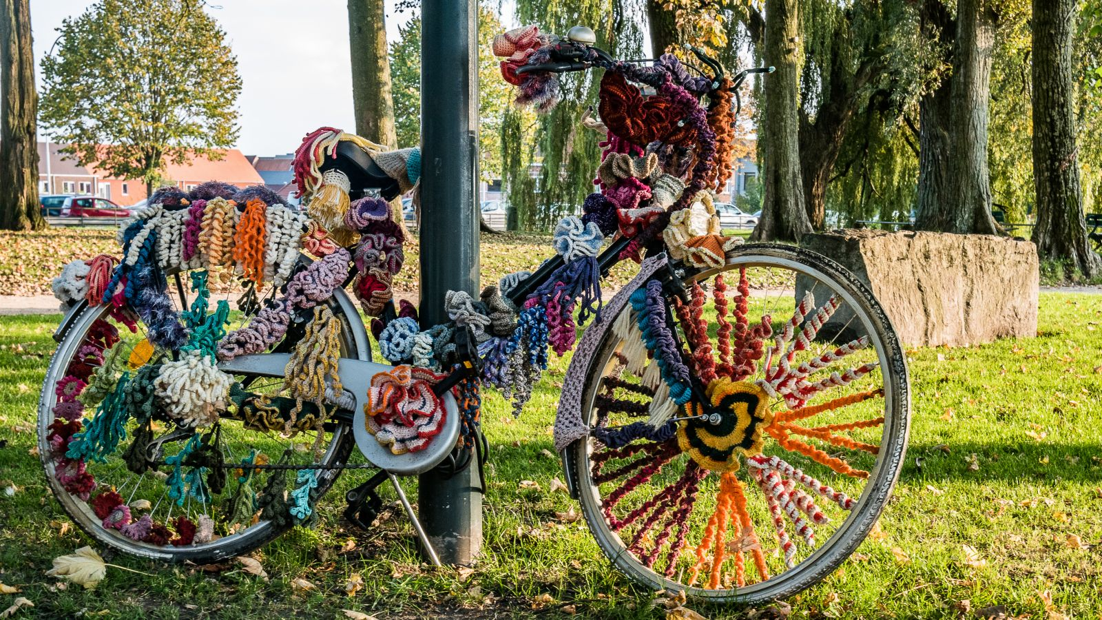 Bruges. Belgium. Bicycle. Autumn edition :-)