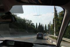 """догоняю собрата трасса """"Симферополь - Ялта"""""""
