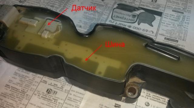 Ремонт модуля катушек зажигания двигателя TU5JP4 - Бензин