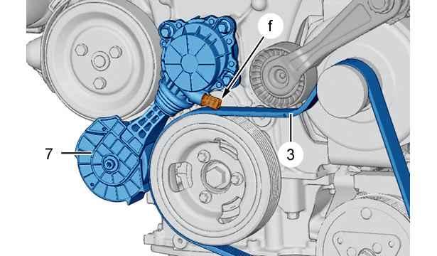 Замена ремня генератора на ситроен с4