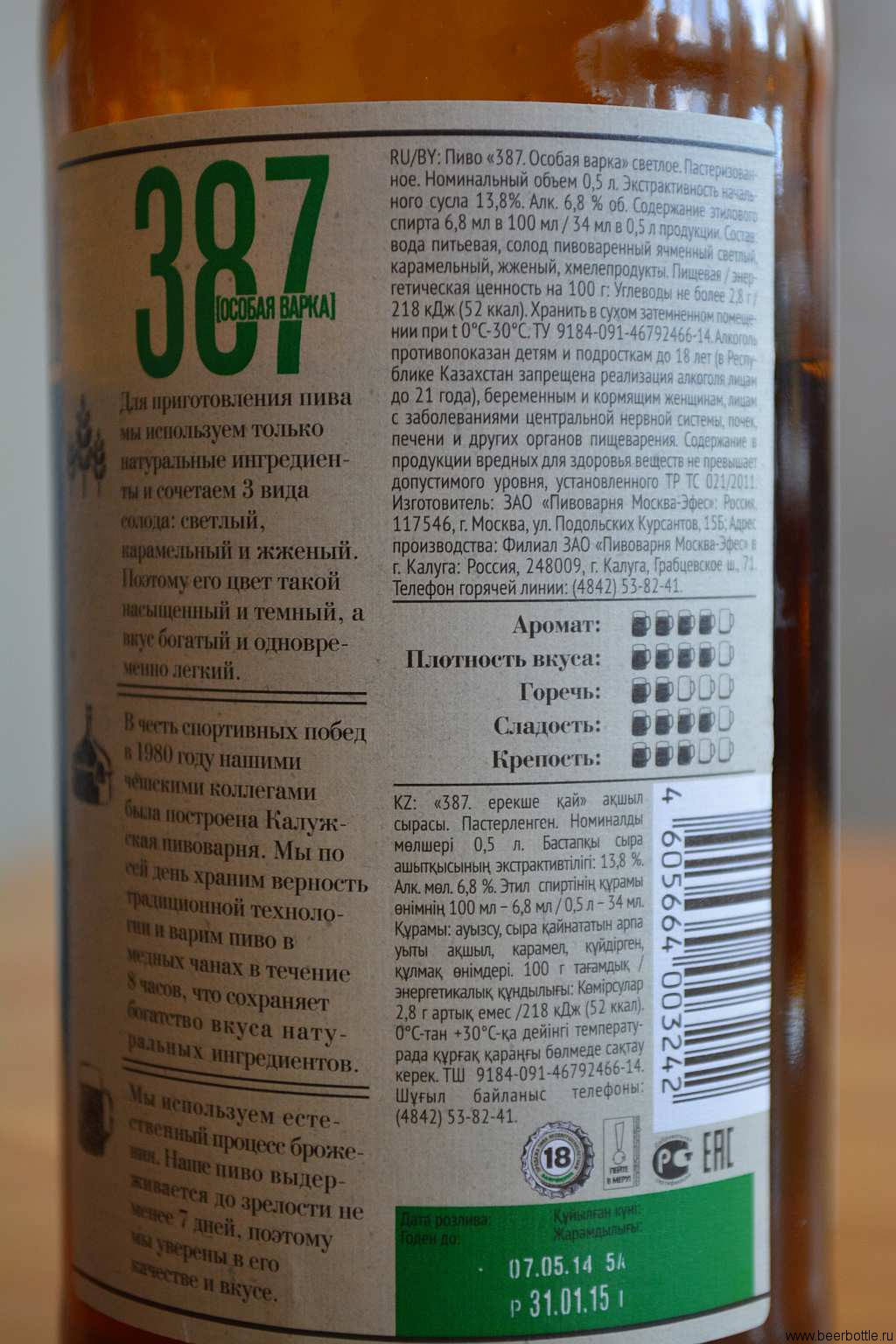Сколько градусов пиво 387