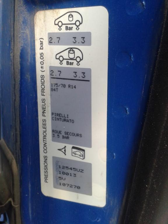 размер колес на ситроен берлинго 2009 1,4
