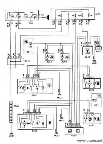 схема ЦЗ.