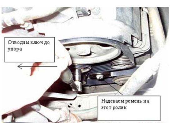 замена ремня генератора ситроен ксара пикассо