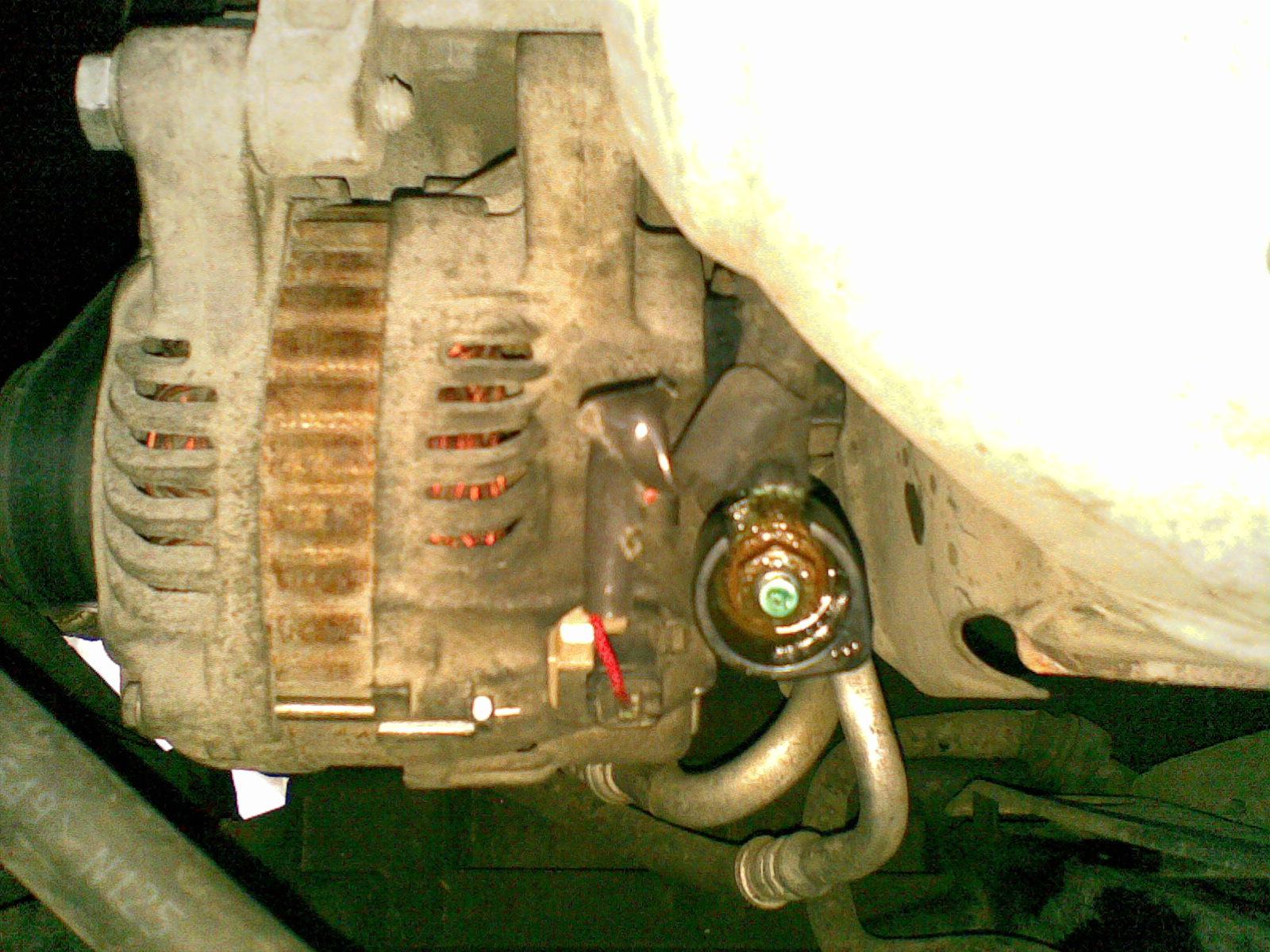 пежо 307 схема электрическая генератора